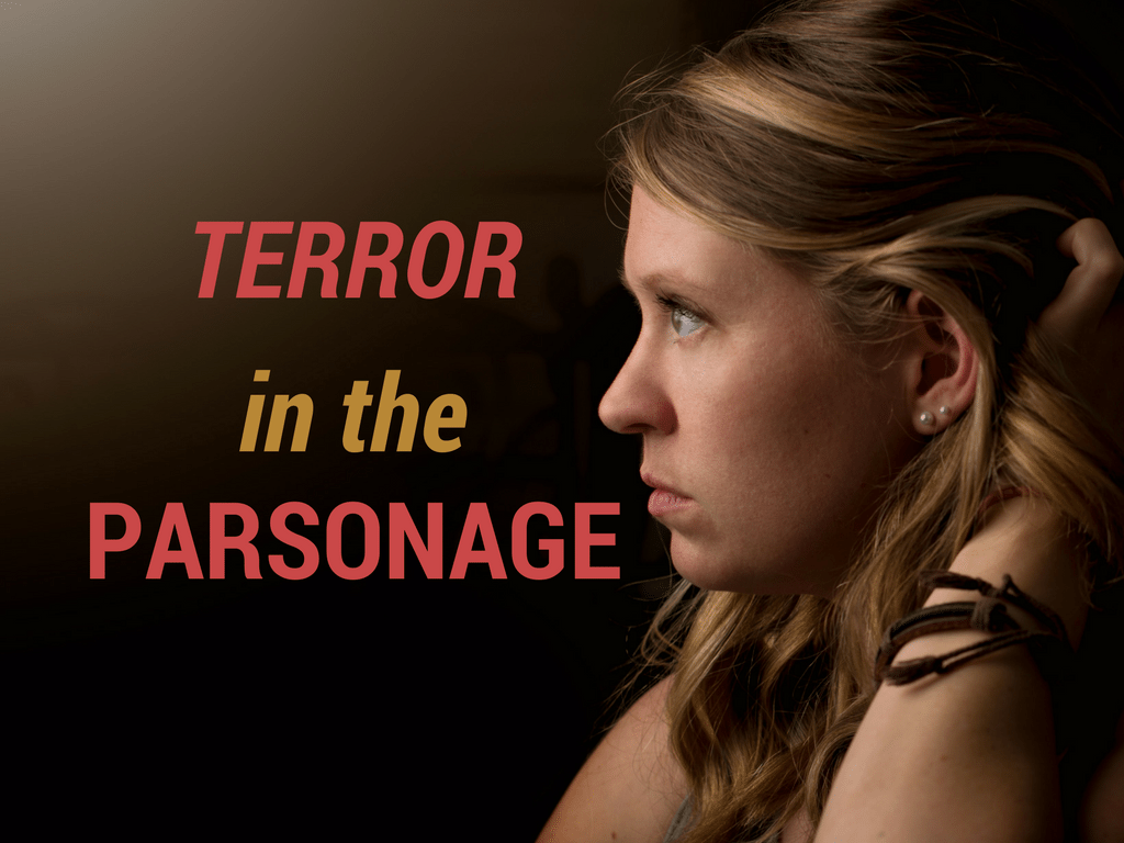 Terror Parsonage - Unsplash background - canva