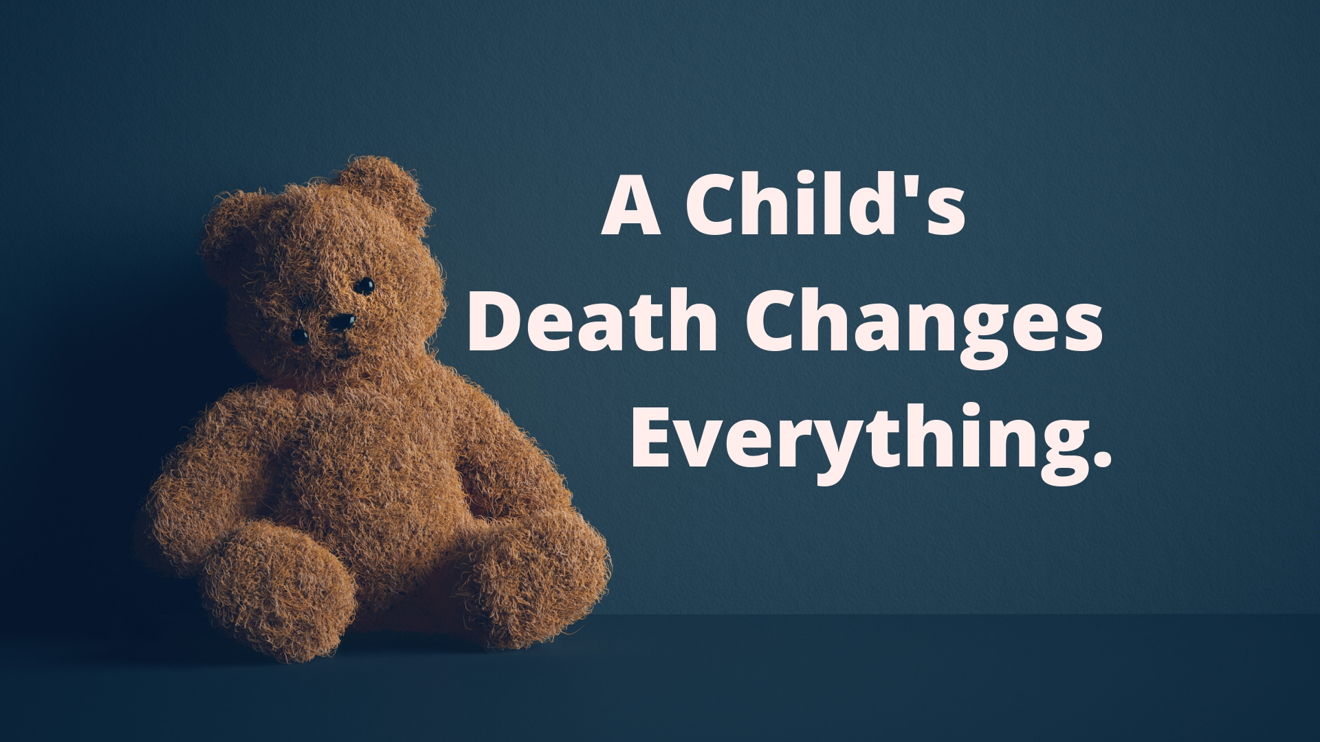 A Child's Death Changes Everything - Stock Adobe - Canva