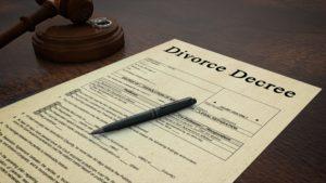 Photo club Gavel Divorce Paper Decree Right