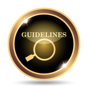 Resolving conflict guidelines - dollar photo Guidelines icon