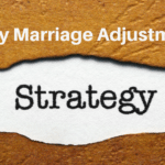 Making Those Early Marriage Adjustments