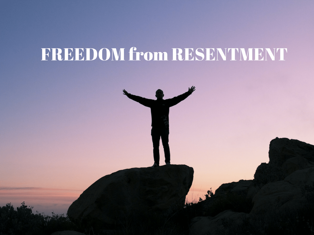 FREEDOM from RESENTMENT- Pixabay background
