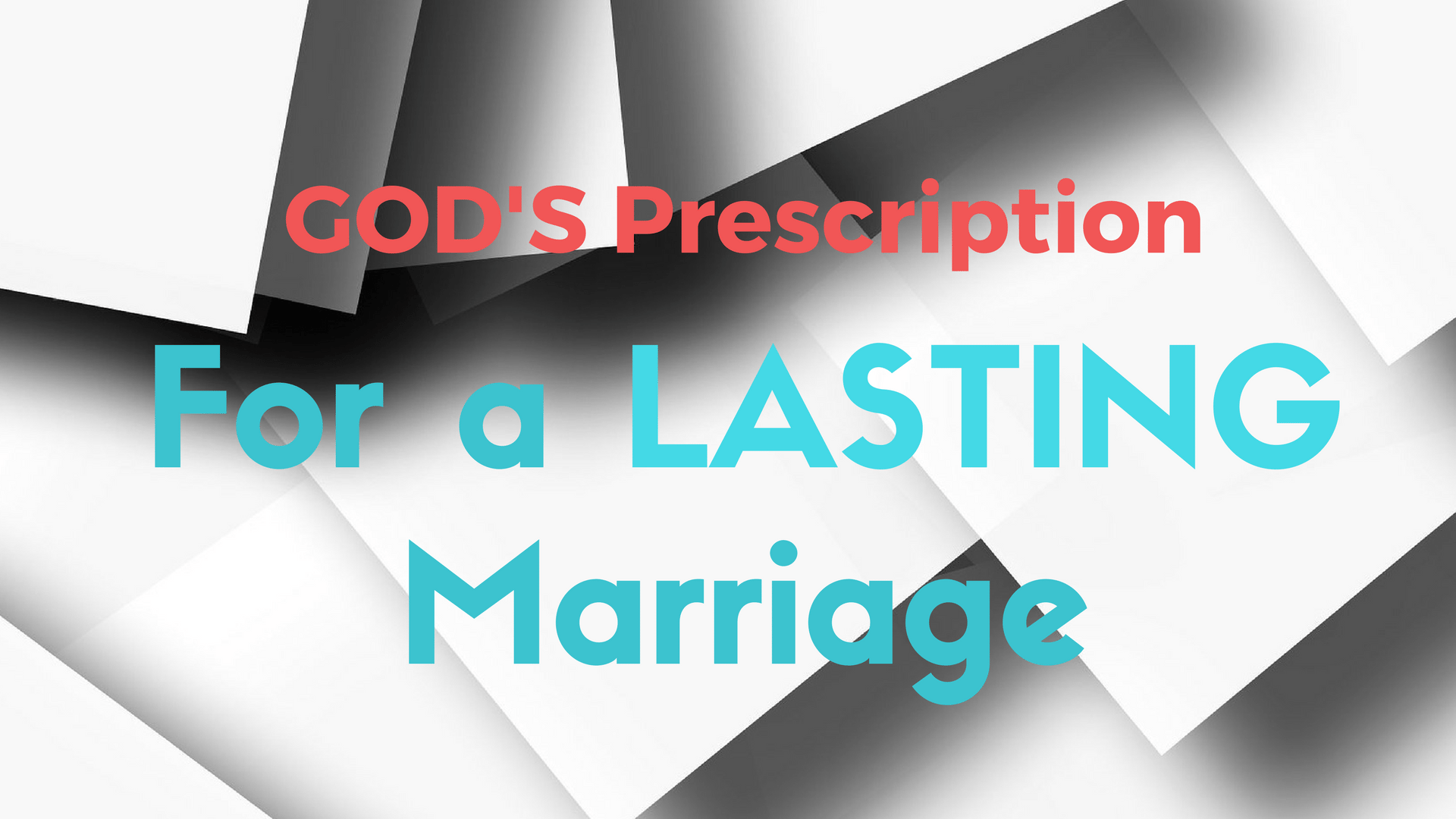 GOD'S PRESCRIPTION Lasting Marriage - Canva Pixabay background