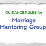 Guidance Rules For Marriage Mentoring Groups