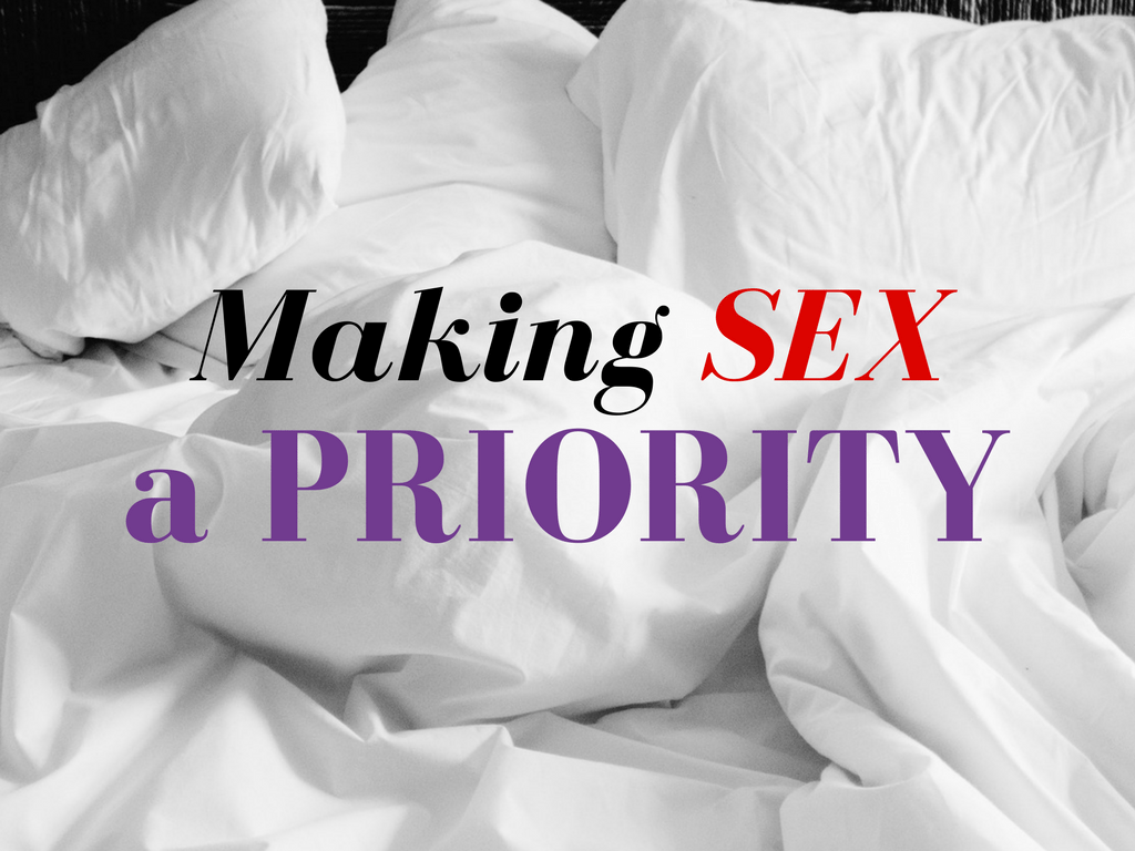 Making Sex Priority - Pixabay