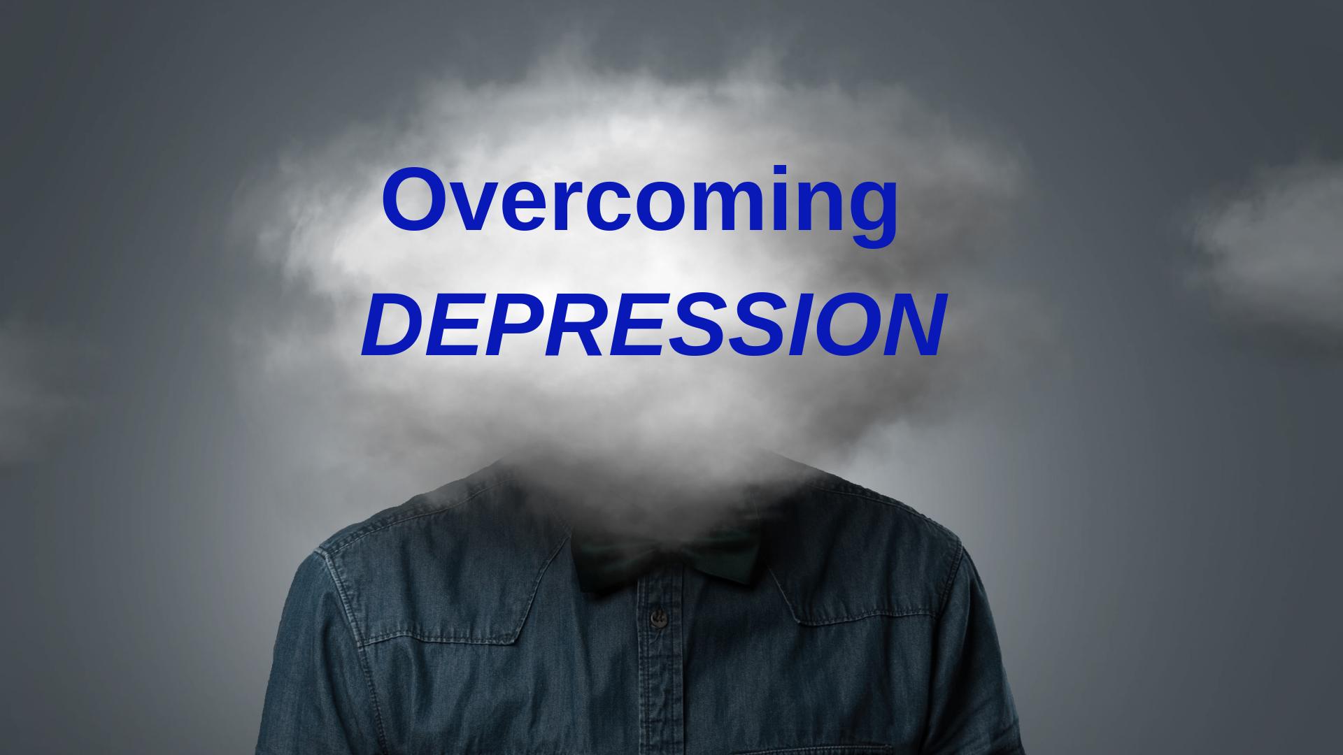 Overcoming Depression - Graphic Stock