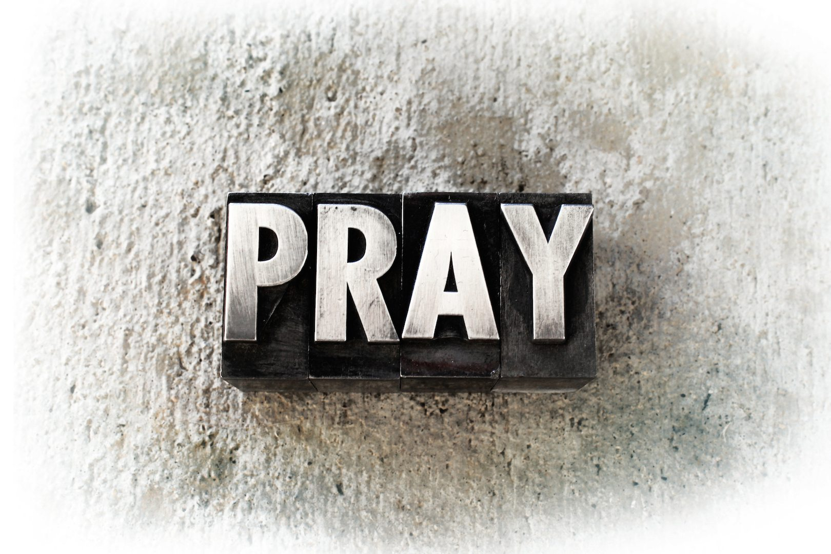 PUSH Pray Until Something Happens AdobeStock_68995369
