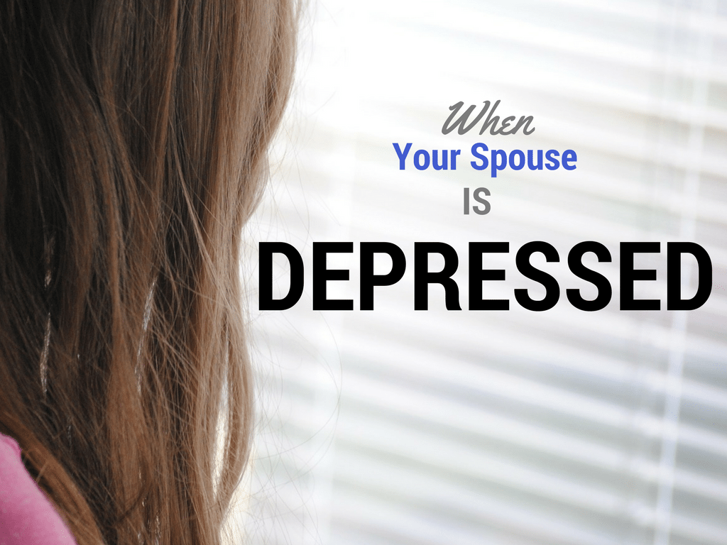 Spouse is Depressed - Pixabay background - Canva