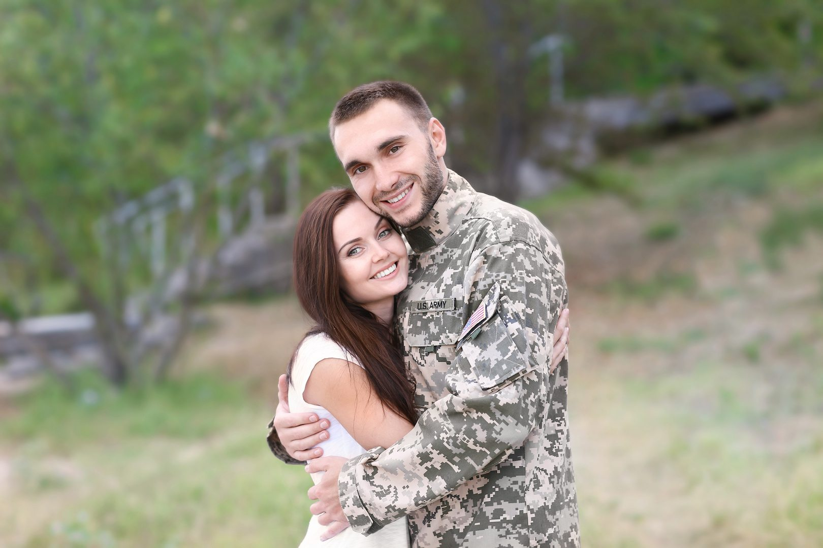 Standing Strong - Military Families - AdobeStock_122805152 copy