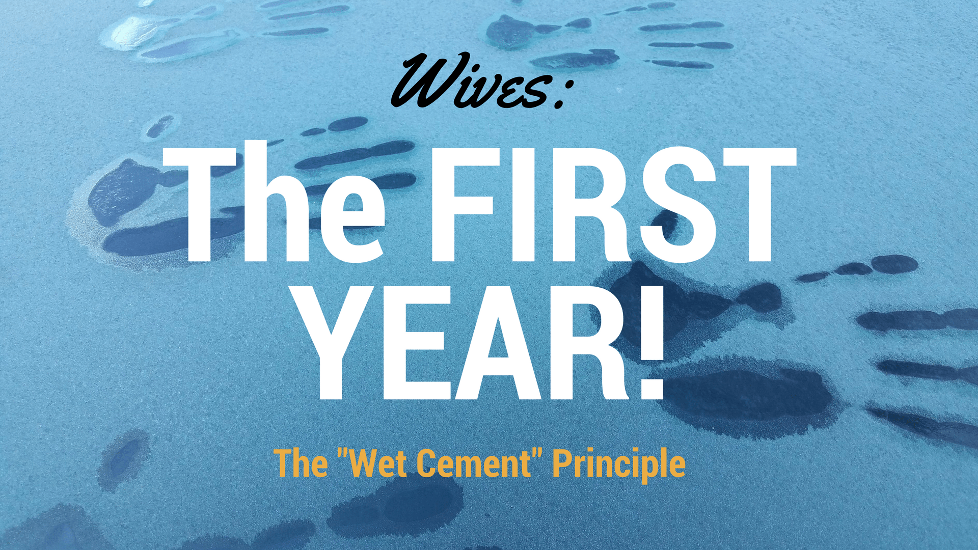 Wives The First Year Canva - Pixabay background