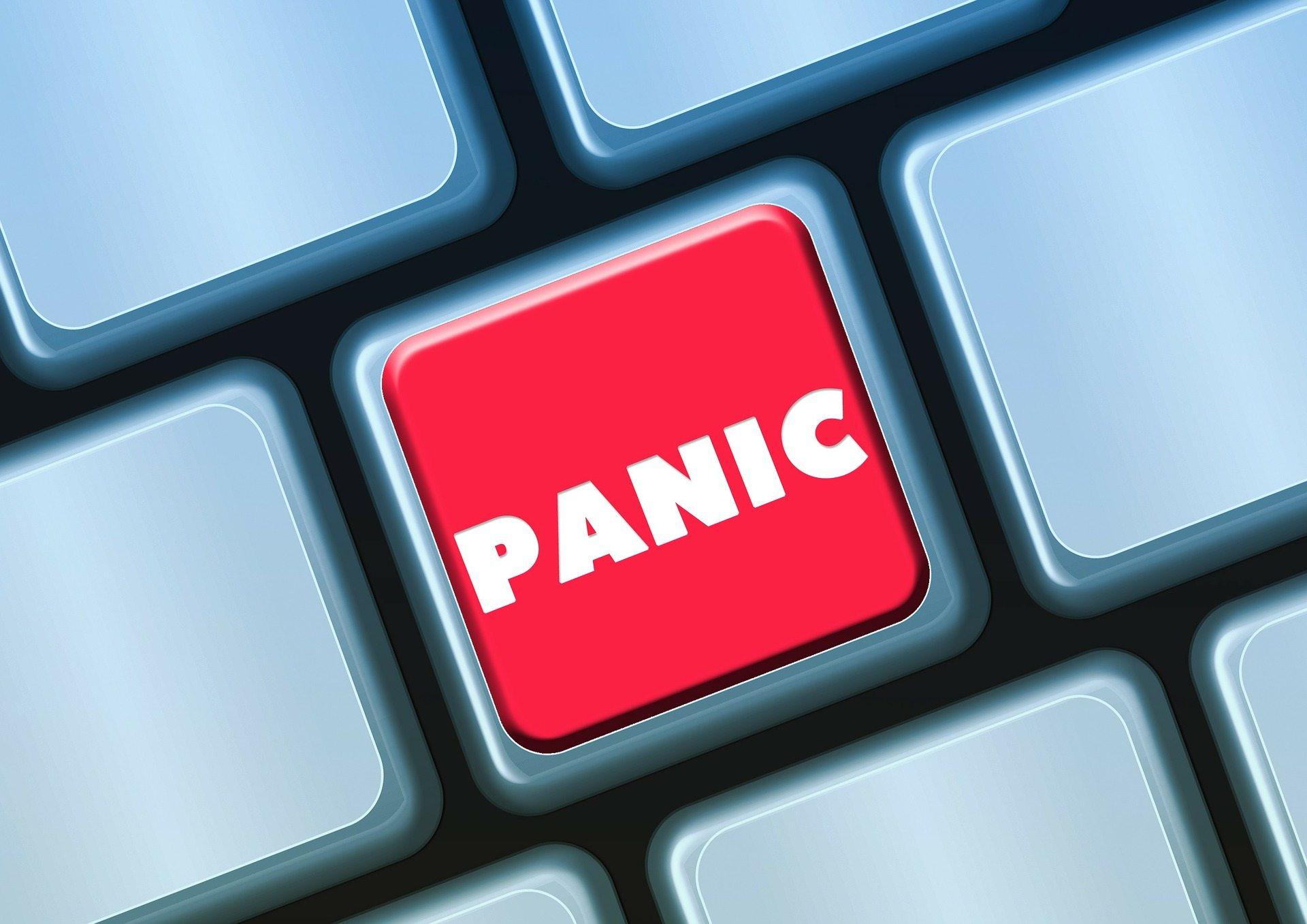 Panic - Pixabay keyboard-114439_1920