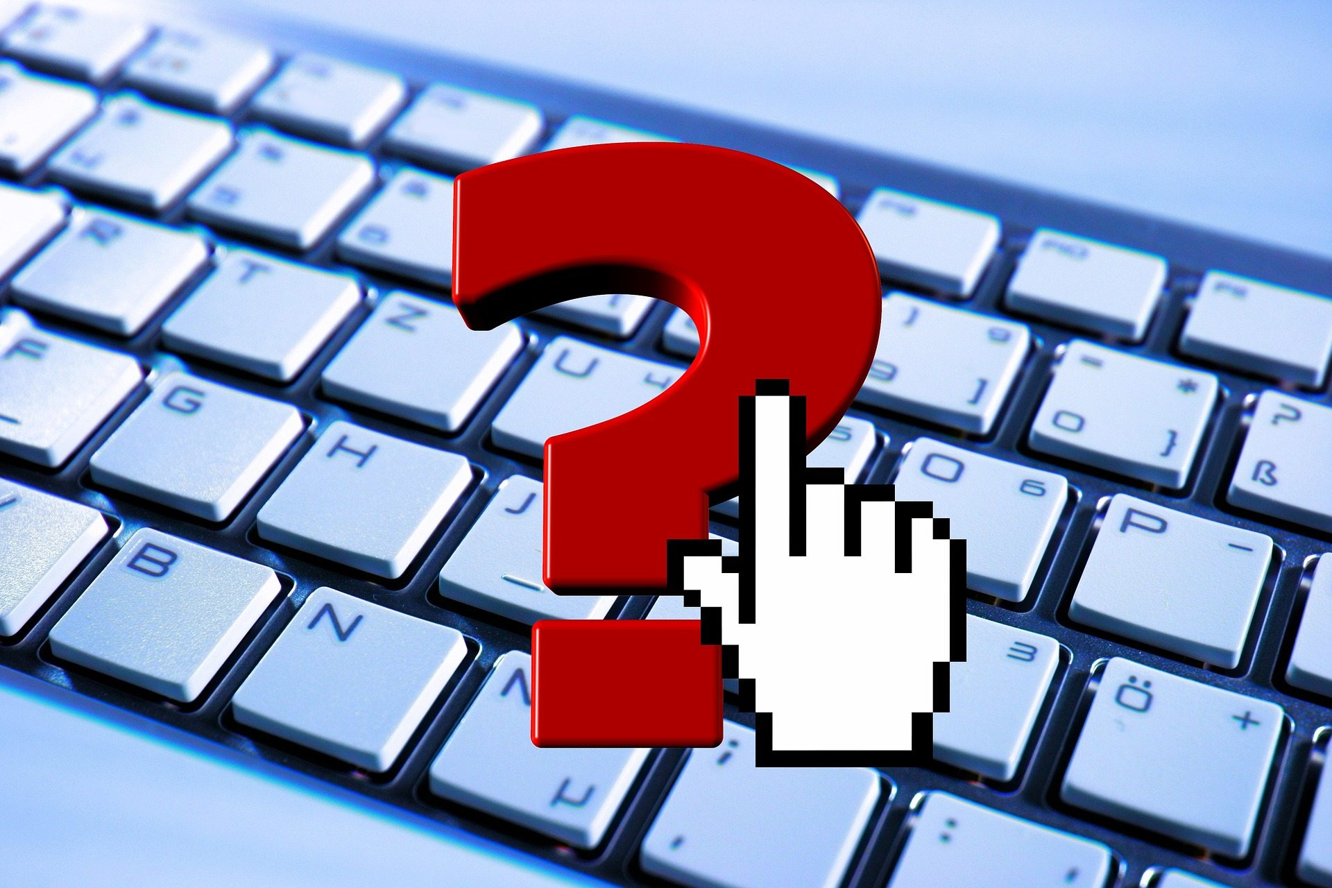 Questions guidelines purity Pixabay keyboard-824317_1920