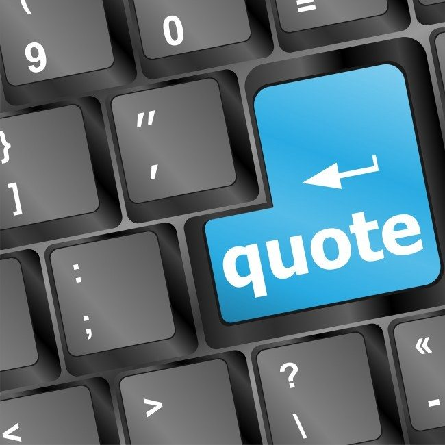 Dollar Photo Key for quotes