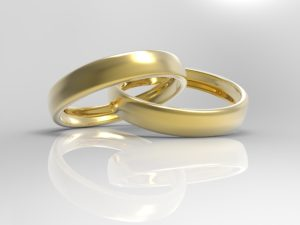 Dollar Photo Gold Wedding Rings