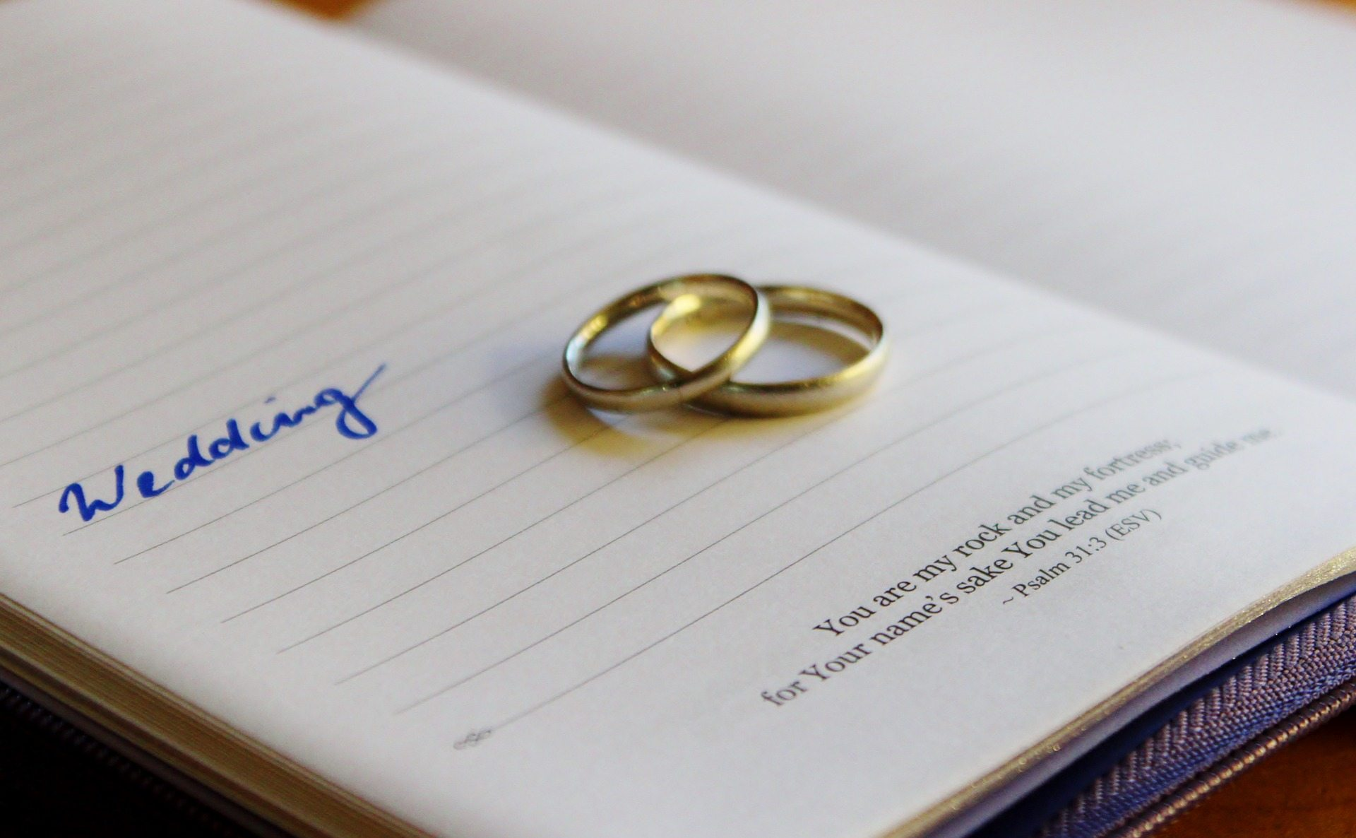 Bible Verses That Can Be Used In A Wedding Ceremony