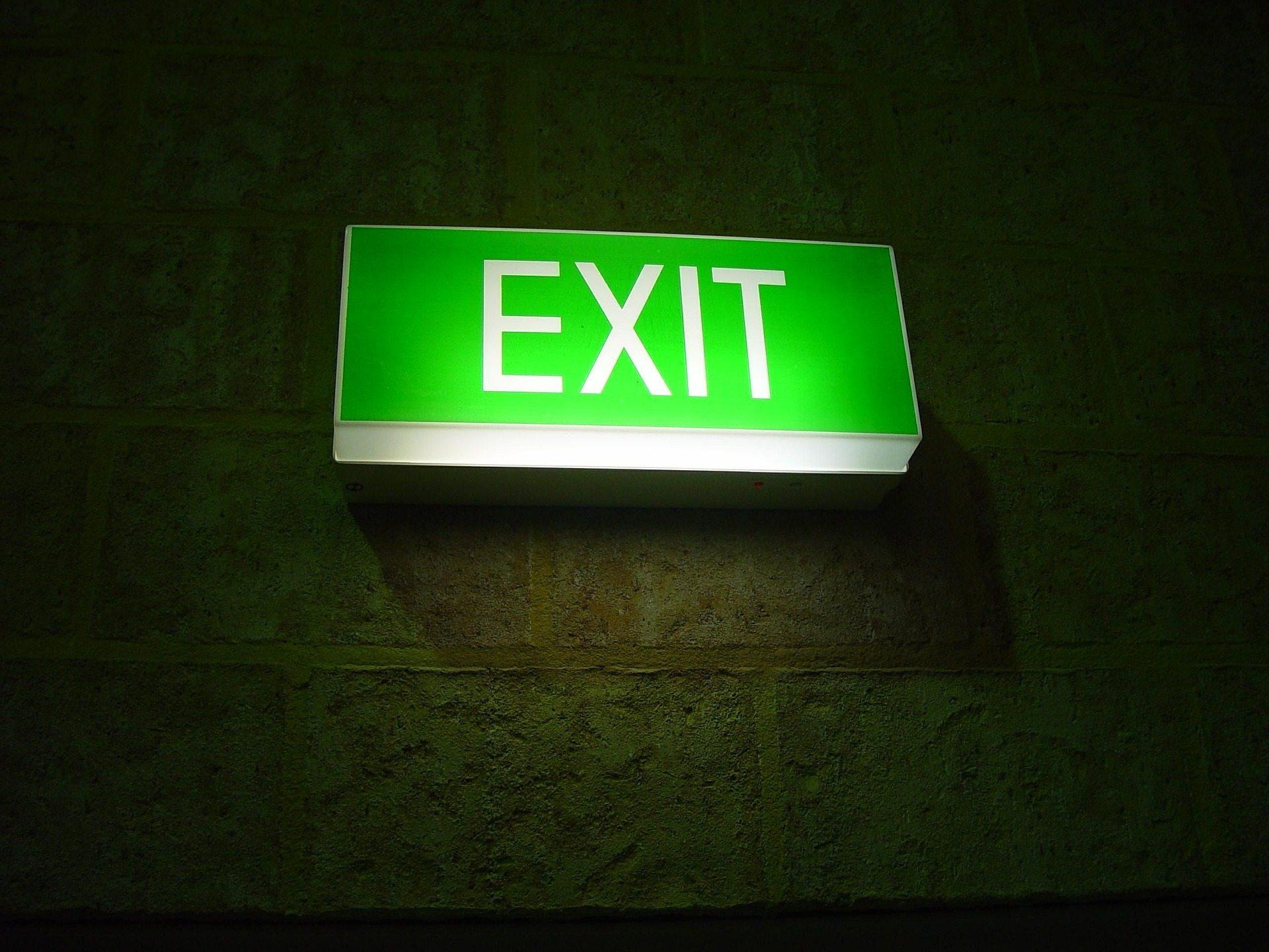 Safety Pixabay exit-387227_1920