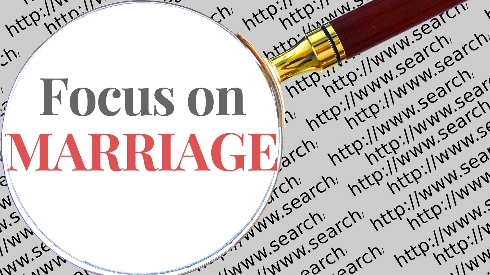 Focus on MARRIAGE - Pixabay - Canva