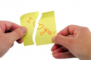 hand burst stick paper phrase I love you heart
