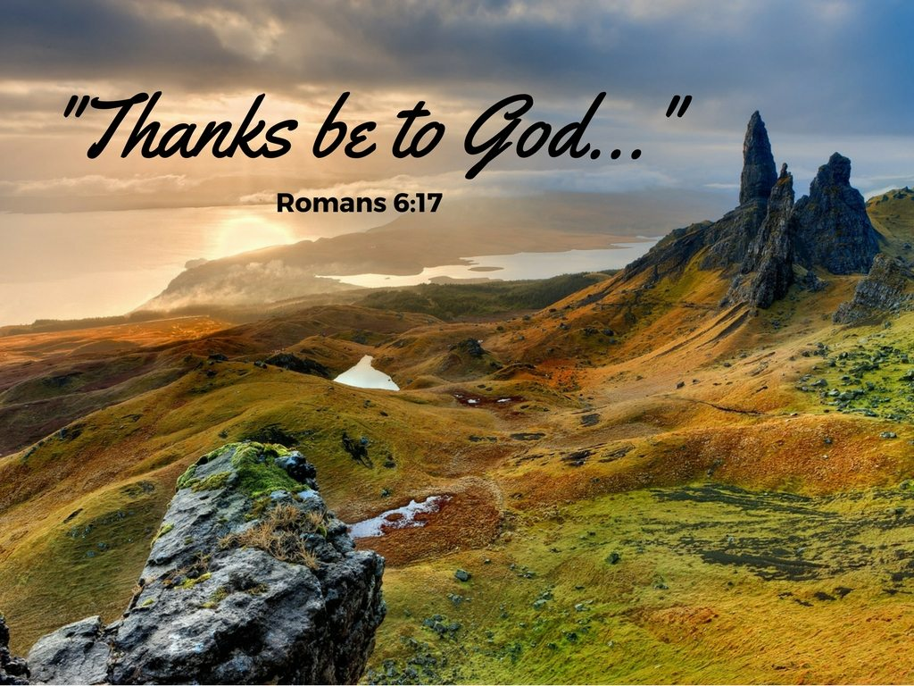Thanks be to God - Thanks Living - Background Pixabay