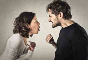 Angry spouse Dollar Photo Arguing couple