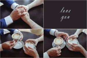 Intentional time - Dollar Photo - Happy couple in love drinking coffee