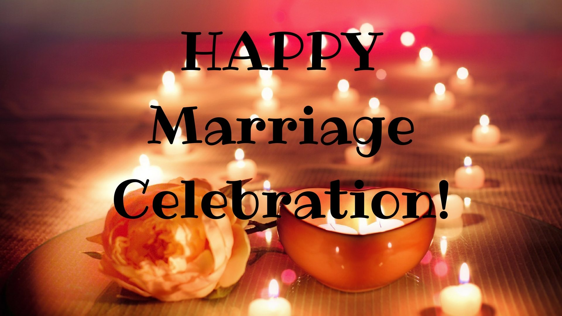 HAPPY Marriage Celebration! Canva Pixabay