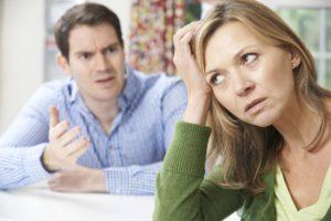 Marital confrontation Dollar Photo