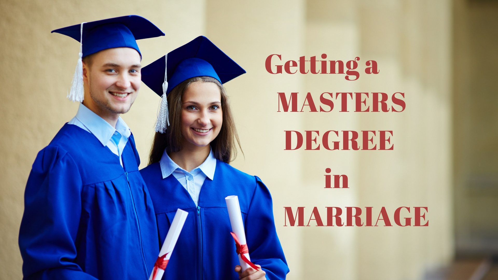 Masters Degree in Marriage Graphic Stock Canva