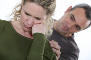 Dollar Photo - Boyfriend consoling woman