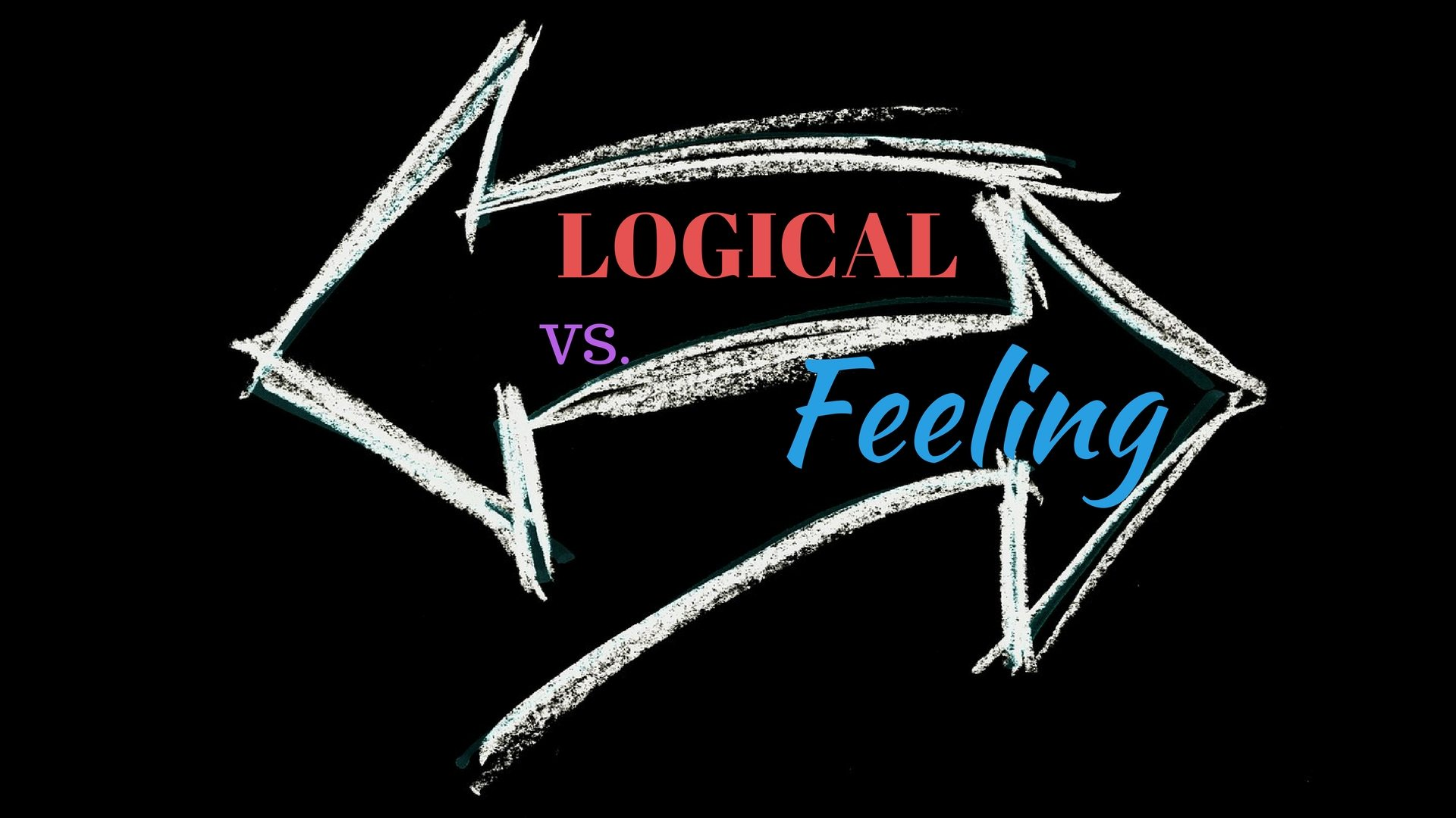 Logical VS Feeling - Pixabay - Canva