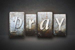 Prayer Request Dollar club Pray Letterpress