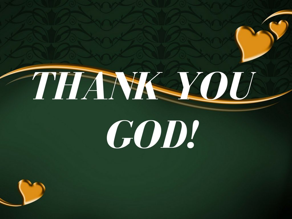 Giving thanks - Thank You God! - Pixabay background