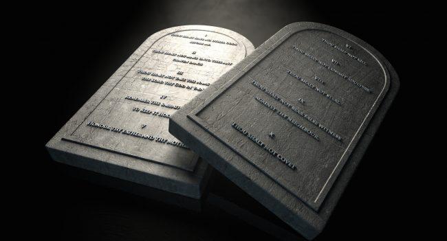 Stock Adobe The Ten Commandments - Marriage commandments