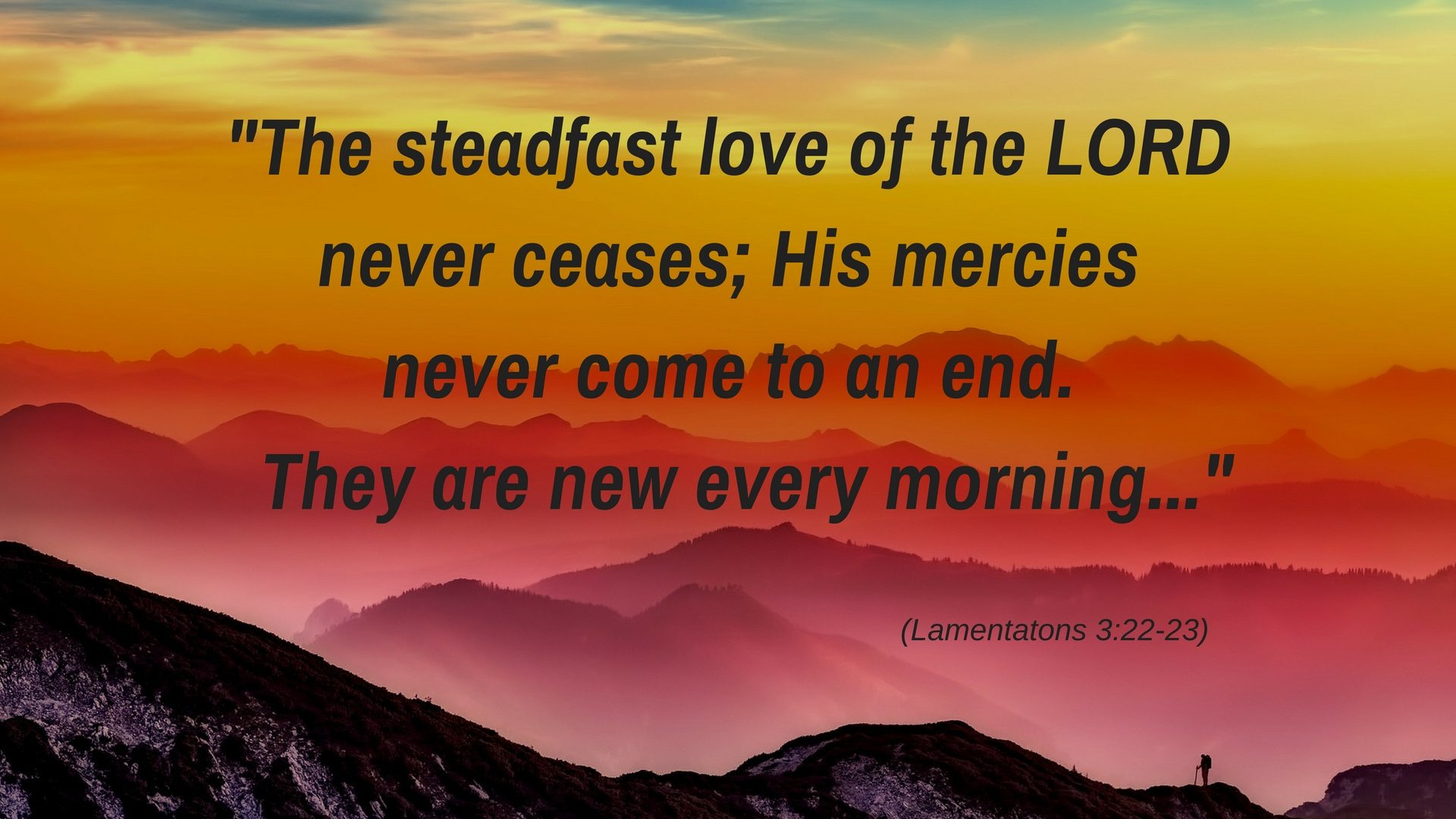 The steadfast love - Pixabay - Canva