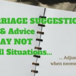 Marriage Suggestions Don't Fit All – MM #302