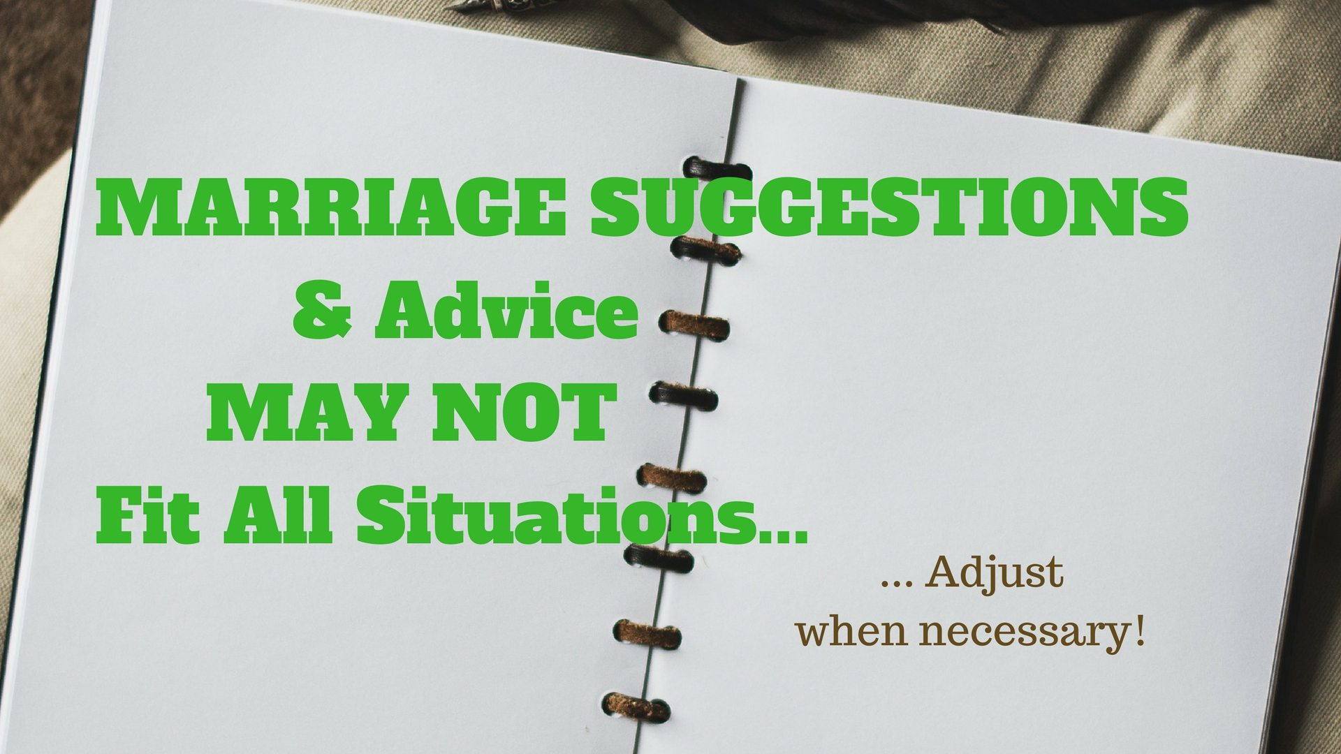 MARRIAGE SUGGESTIONS - Pixabay - Canva