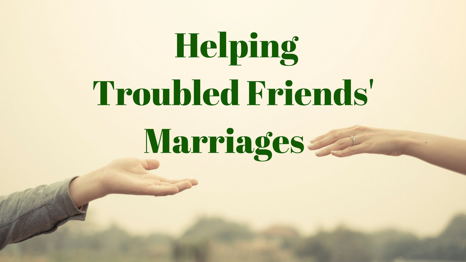 Helping Troubled Friends' Marriages - Graphic stock - canva