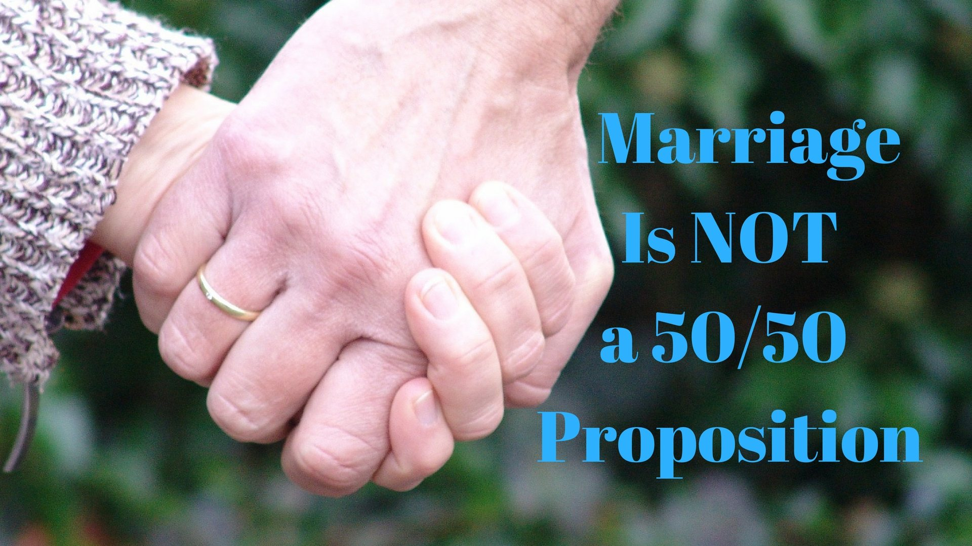 Marriage Is Not a 50/50 Proposition - Pixabay - Canva