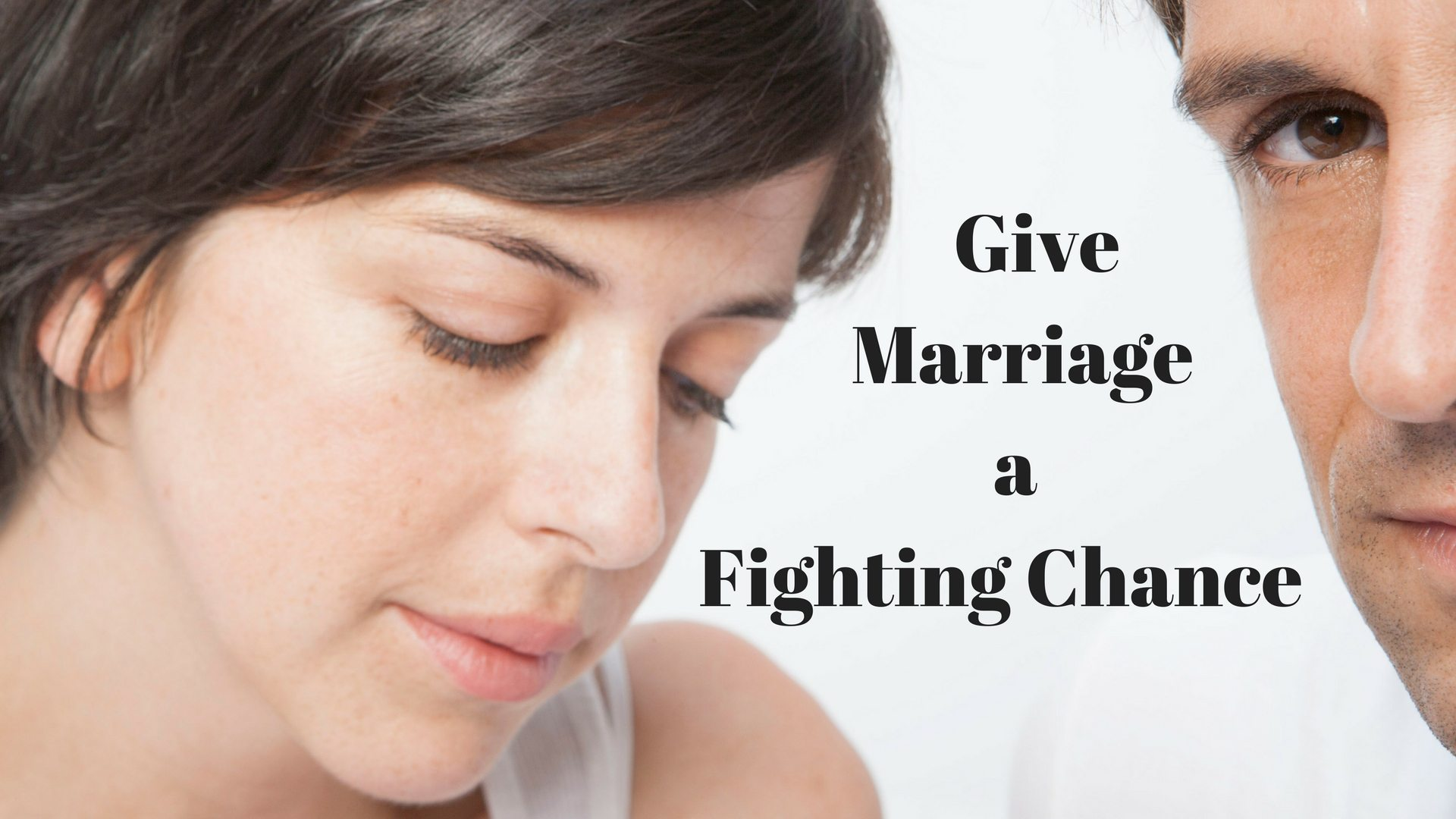 Give Marriage Fighting Chance Graphic stock canva