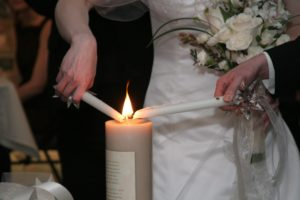 United as one - Dollar Photo unity candle lighting wedding