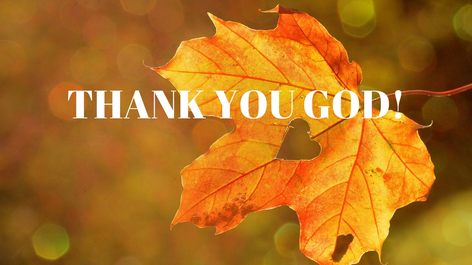 THANK YOU GOD! Say Thanks Pixabay - Canva