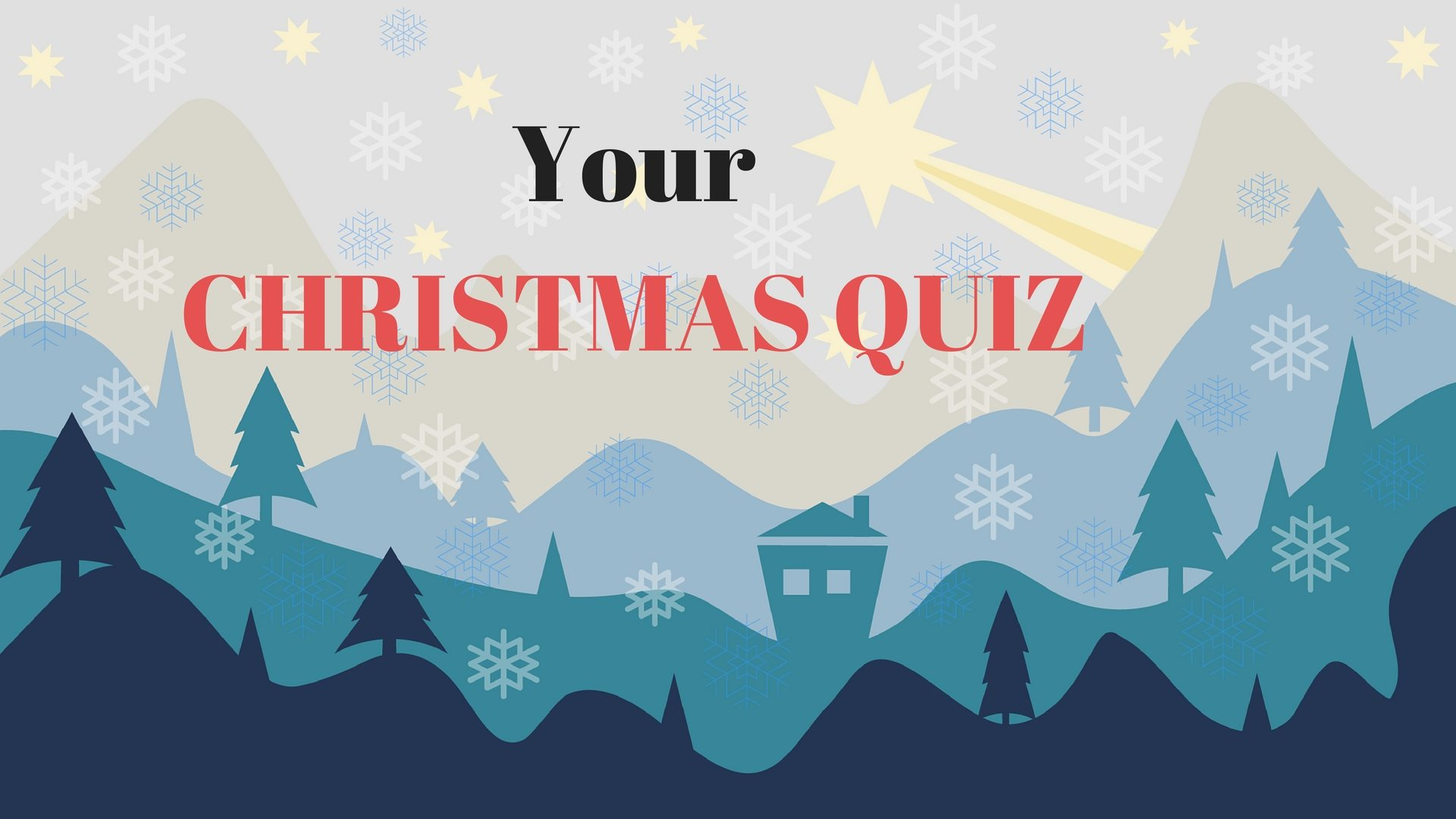 Your CHRISTMAS QUIZ - Pixabay - Canva