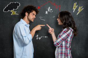 dollar photo Couple Having Argument