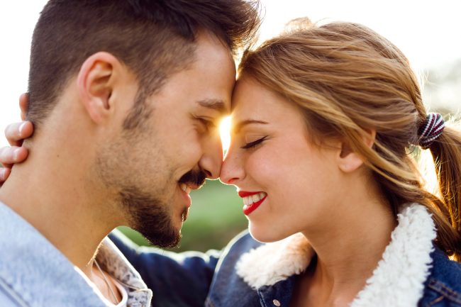 Intimacy Adobe Stock Beautiful Young In Love The Park