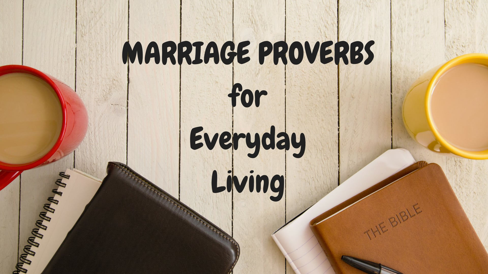 Marriage Proverbs for Everyday Living - Stock Adobe - Canva