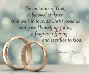 Be imitators of God photo