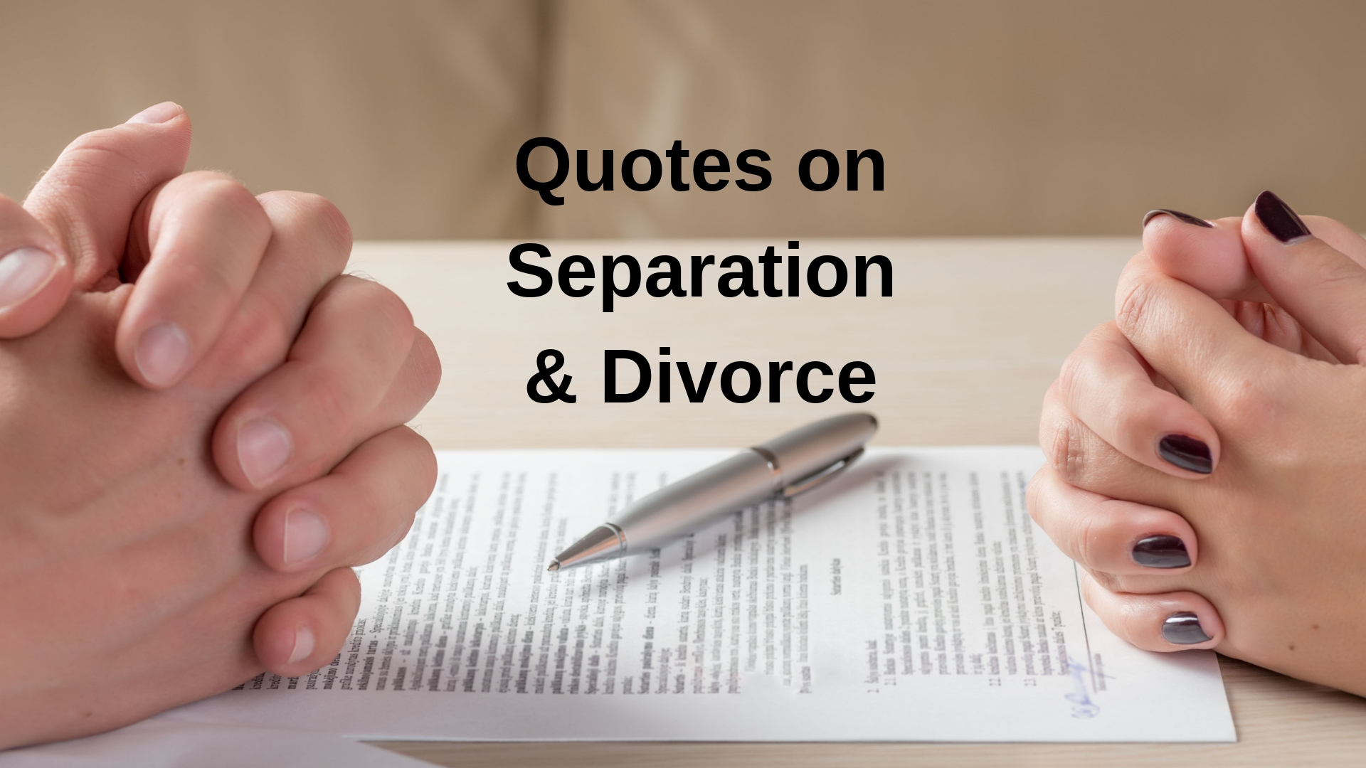 Quotes on Separation & Divorce - Adobe Stock - Canva