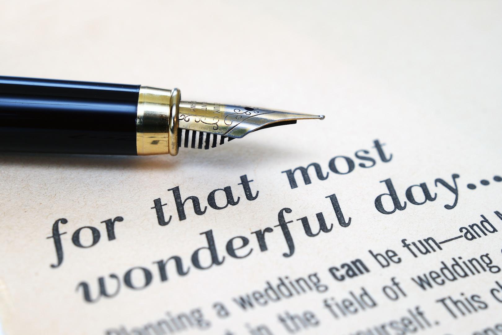 Planning Your Wedding - AdobeStock_39374795