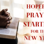Hopeful Prayer Starters for the New Year
